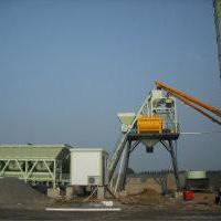 供应方圆经济型搅拌站HZS75-CP1500
