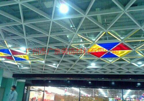 供应广东三角格栅-烤漆三角格栅-六角形格栅天花-广东三角格栅生产厂家