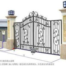 农村别墅铁艺大门/上海嘉定区铁艺大门安装公司图片