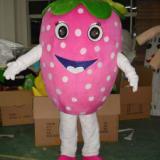 供应草莓行走表演人偶服装