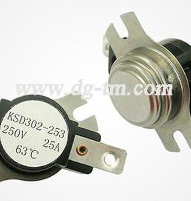 KSD双极温控器大电流温控开关图片/KSD双极温控器大电流温控开关样板图 (2)