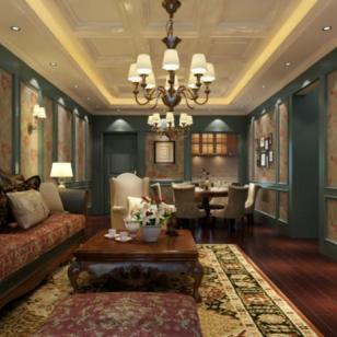 欢乐佳园的欧式华丽宫廷之家图片