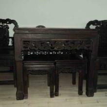 供应老红木麻将桌回收 老红木家具回收报价