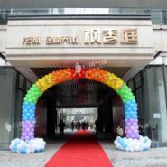 龙湖销售中心气球装饰/售楼部装饰图片