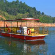920电动船游览船图片
