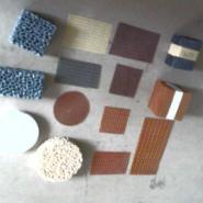 铸造用耐高温纤维过滤网图片