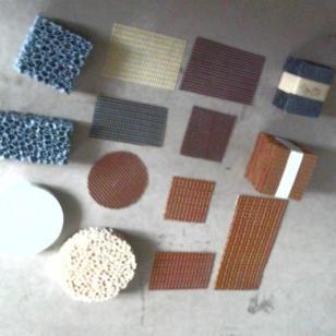 重庆高硅氧耐高温纤维铸造过滤网图片