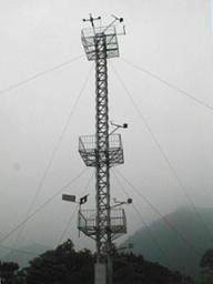 测风塔测风设备图片
