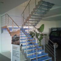 供应山西阳泉商场楼梯护栏