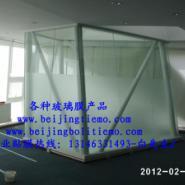北京隔热膜防紫外线贴膜玻璃膜建筑图片