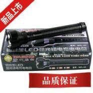 安防型强光充电电筒套装图片