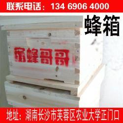 中蜂蜂具批发杉木七框十框蜂箱批发 蜜蜂哥哥中蜂批发杉木七框十框蜂箱