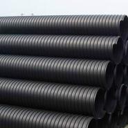 供应便宜HDPE钢带增强波纹管图片