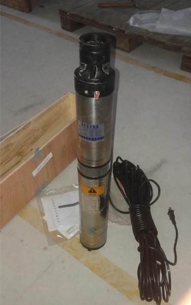 供应不锈钢深井泵100QJD2-90/17单相220