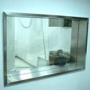 医用防辐射铅玻璃/CT室防辐射玻图片