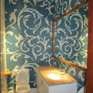 厨卫瓷砖贴泳池蓝色墙砖地中海风格图片