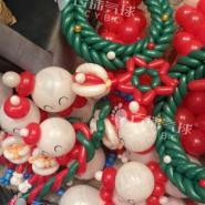 圣诞节气球装饰/圣诞楼盘气球装饰图片