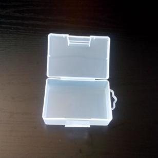 长方形PP盒/带挂钩/PP工具盒/翻扣图片