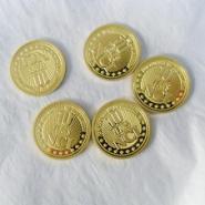 西安纯金银纪念币批发商图片