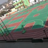 供应羽毛球场刷地板漆、一个室外羽毛球场地的造价、篮球场混凝土地面刷漆