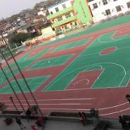 广州蓝球场改造翻新图片