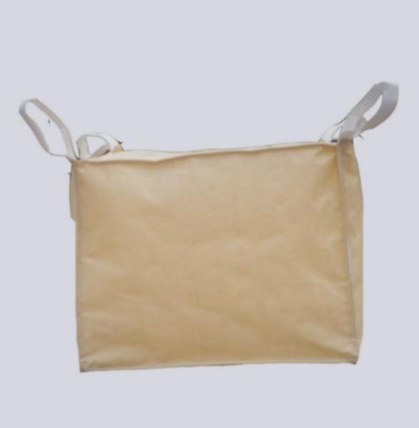 供应全新二手吨袋全新料未使用过上面大敞口,下面小口,四条吊带+两横吊,可重复使用。
