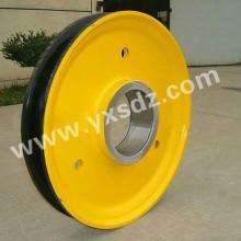 供应起重机滑轮 山西永鑫生锻造 大型起重机械卸船机滑轮锻件