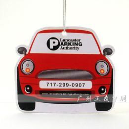 供应定制各种样式汽车香片纸汽车香水片