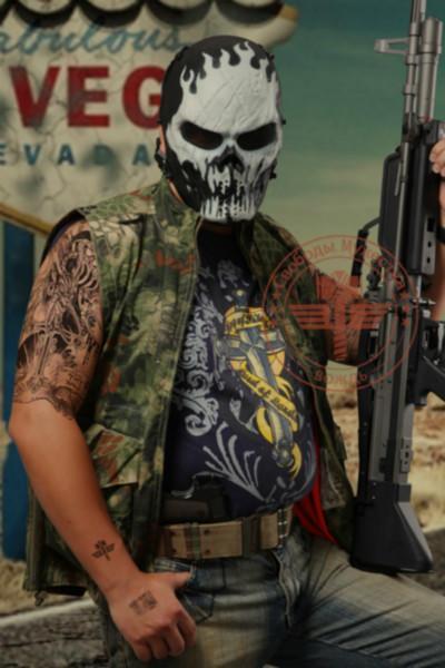 供应酋长M06恶煞防护面具、节日面具、CS防护面具、舞台面具