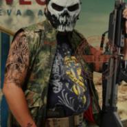 酋长M06恶煞防护面具图片