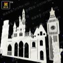 PVC婚庆道具世界名筑迪斯尼城堡图片