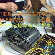 承接海口三亚文昌万宁光纤熔接工程图片