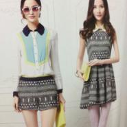 供应广州自由秀品牌尾货折扣批发正品春夏装连衣裙上衣低价13380111690