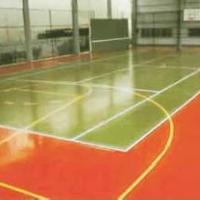 供应地坪漆 球场 体育场专用地坪漆施工包工包料