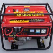 手动380V6kW家用汽油发电机图片