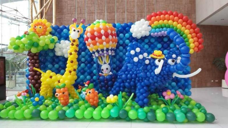 供应开业典礼气球装饰气球布置策划