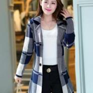 2014韩版女装批发毛呢大衣棉衣图片