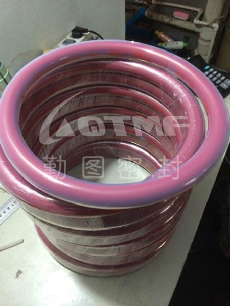 上海奉贤供应硅橡胶包覆O型圈/硅胶包覆O型圈 报价/厂家