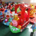 供应武威电动玩具火车款式投币摇摇车熊大光头强摇摆机销售