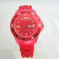 供应儿童发光手表多种颜色儿童手表塑料,环保可爱卡通儿童手表定做
