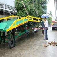供应清溪移动叉车10吨装卸平台直销  佛山三良机械生产厂家直销