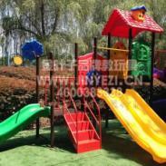 重庆幼儿园组合滑梯图片