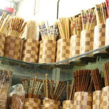 阿里山筷子 艺术竹筷 印花筷子 碳化工艺筷子批发