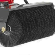 龙威标准定制扫雪刷滚高耐磨钢丝磨料混合扫雪车毛刷