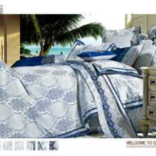 供应欧式四件套欧式丝绵贡缎提花4件套床上用品纯棉四件套批发