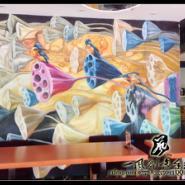 佛山墙体彩绘佛山手绘墙画油画图片