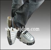 供應鋁制護腳套/安全鞋頭 護腳蓋 腳部防砸防護鞋頭  護腳套圖片