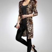 秋季百搭豹纹披肩外套宽松大码外套图片