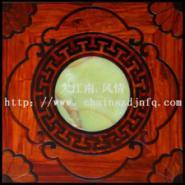 上海木镶玉背景墙图片