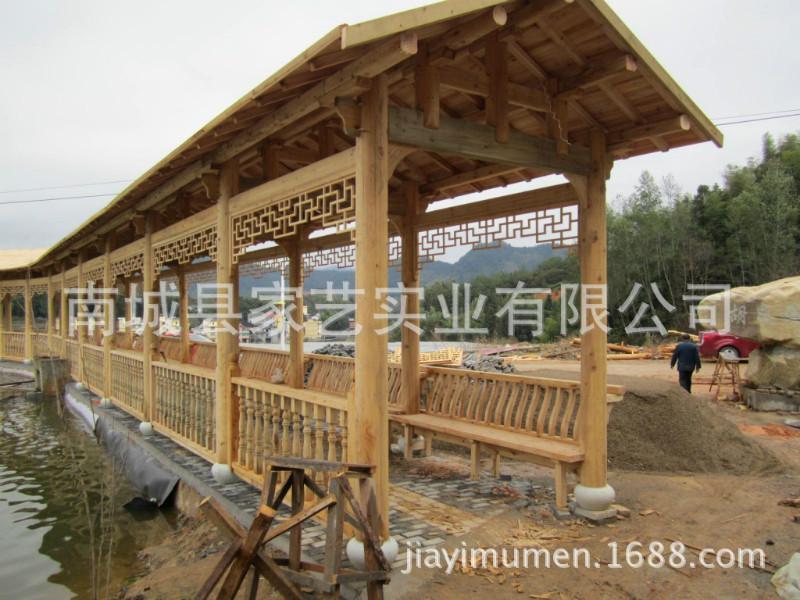 供应仿古长廊,户外仿古长廊,定做木结构长廊 ,生产长廊厂家